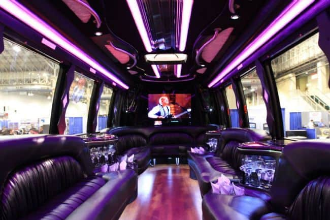 Limo Bus All Valley Limousine Amp Rental Service Mcallen